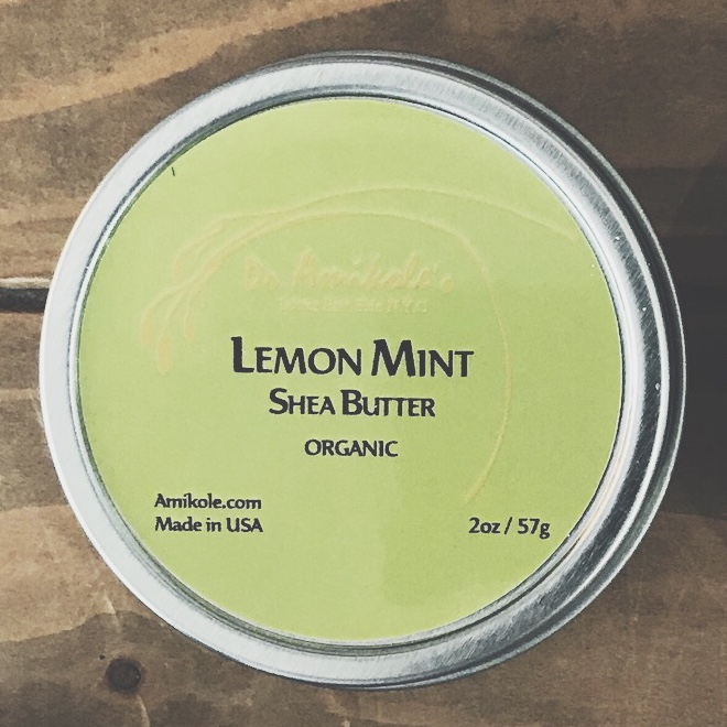 Amikole shea butter Lemon Mint レモンミント